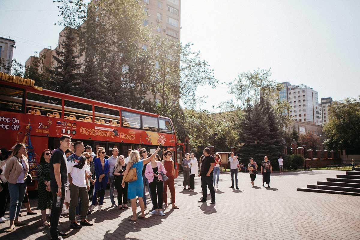 Обзорная экскурсия по Москве на двухэтажном автобусе