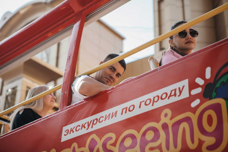 Экскурсии по городу Москве на двухэтажном автобусе