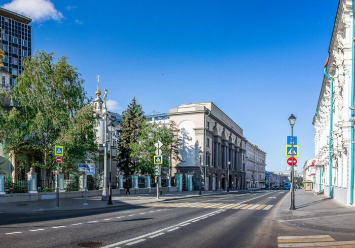 """Улица Маросейка на пешеходной экскурсии от Экскурсионного бюро """"Captour"""""""