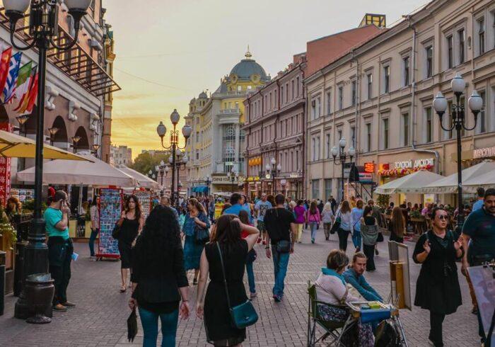 """Арбат на туре в Москву от Экскурсионного бюро """"Captour"""""""