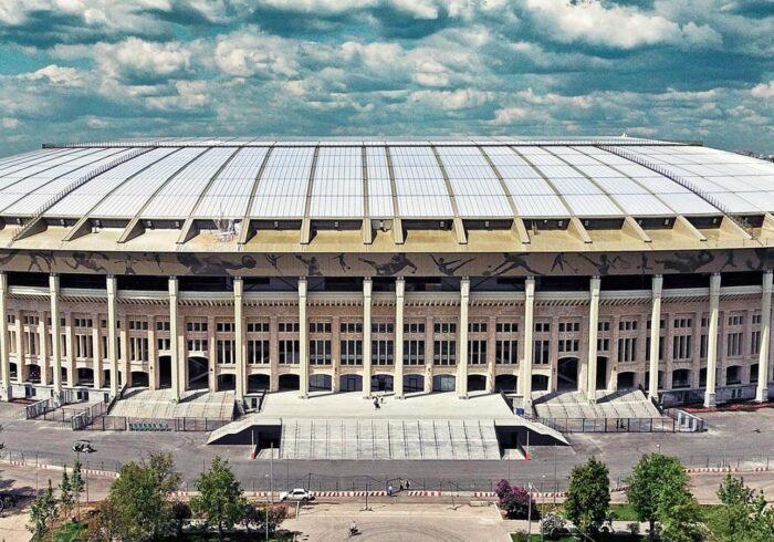 Стадион Лужники на экскурсии Москва Спортивная