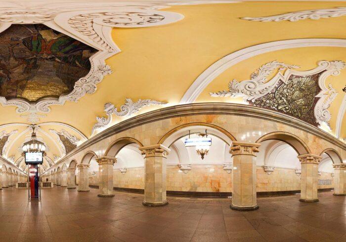 """Метро Москвы на пешеходной экскурсии от Экскурсионного бюро """"Captour"""""""