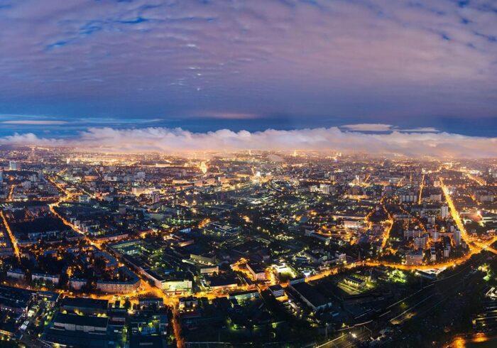 """Ночная Москва на вертолетном туре от Экскурсионного бюро """"Captour"""""""