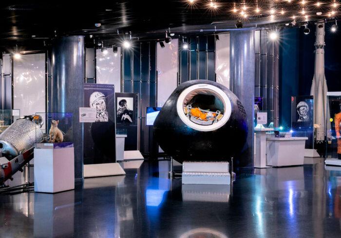 "Панорама Музея Космонавтики от компании ""Captour"""