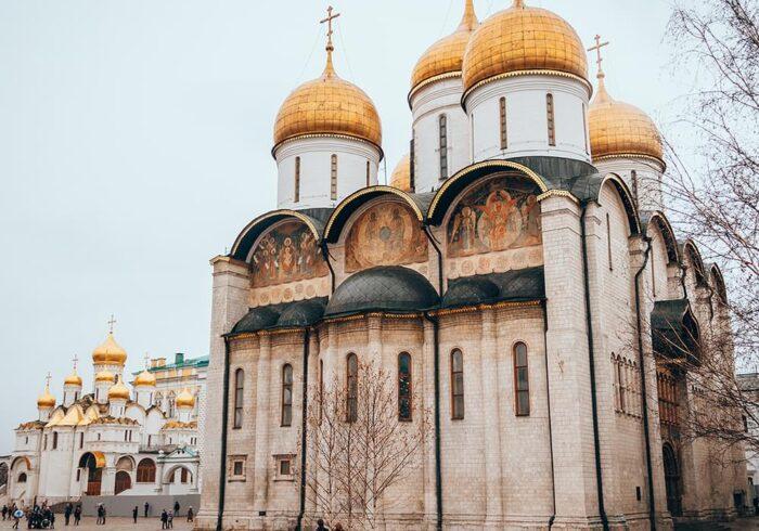 """Собор Московского Кремля на экскурсии от Экскурсионного бюро """"Captour"""""""