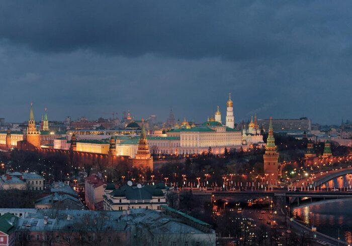 """Панорама вечерней Москвы на экскурсии от Экскурсионного бюро """"Captour"""""""