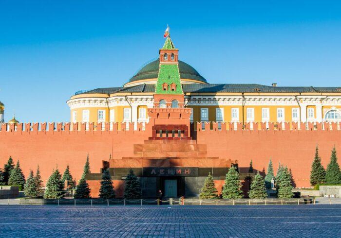 """Мавзолей Ленина на пешеходной экскурсии для иностранцев от Экскурсионного бюро """"Captour"""""""