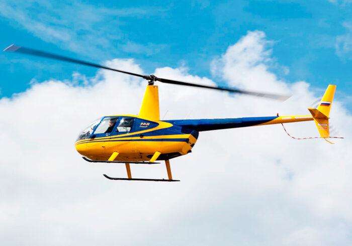 """Вертолетная прогулка от компании """"Captour"""" на вертолете Robinson R44"""