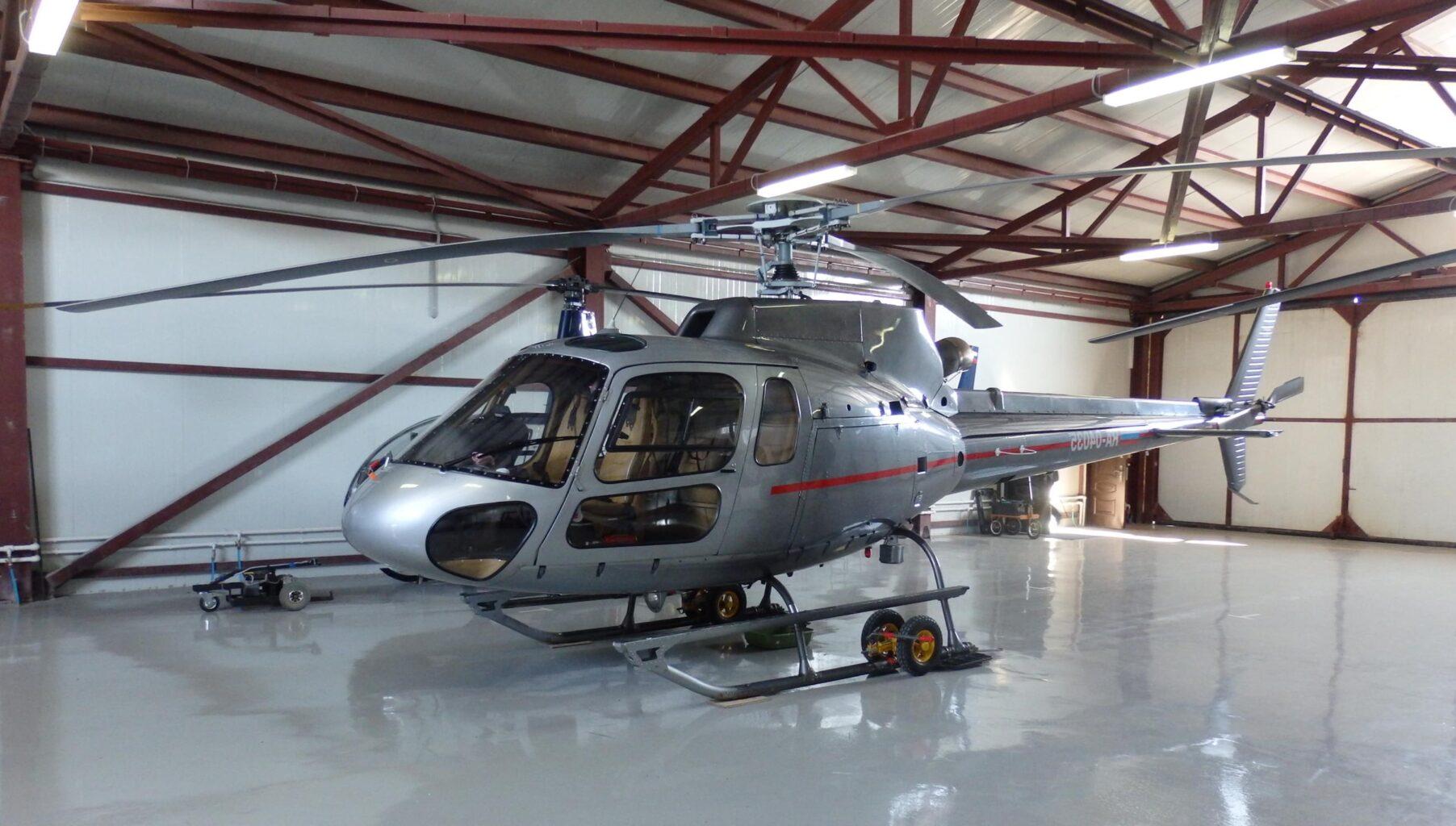 """Eurocopter AS350 для вертолётной прогулки от Экскурсионного бюро """"Captour"""""""