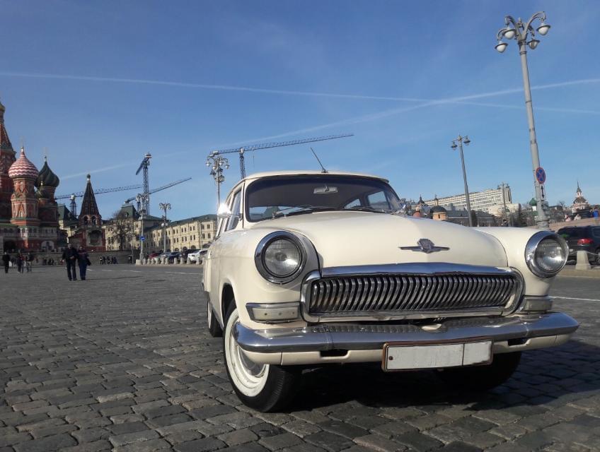"""Белый ГАЗ-21 на экскурсии от компании """"Captour"""""""