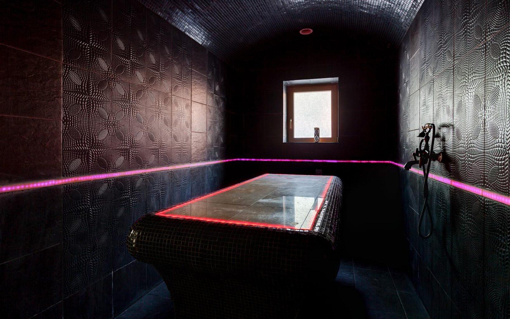 Комната для пилинга в Андреевских банях