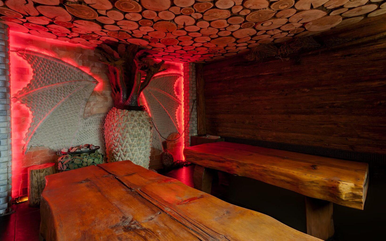 Печь- Змей Горыныч в Андреевских банях
