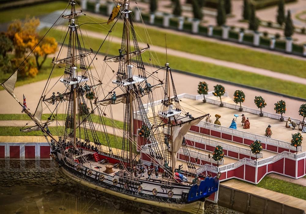 Точная копия корабля