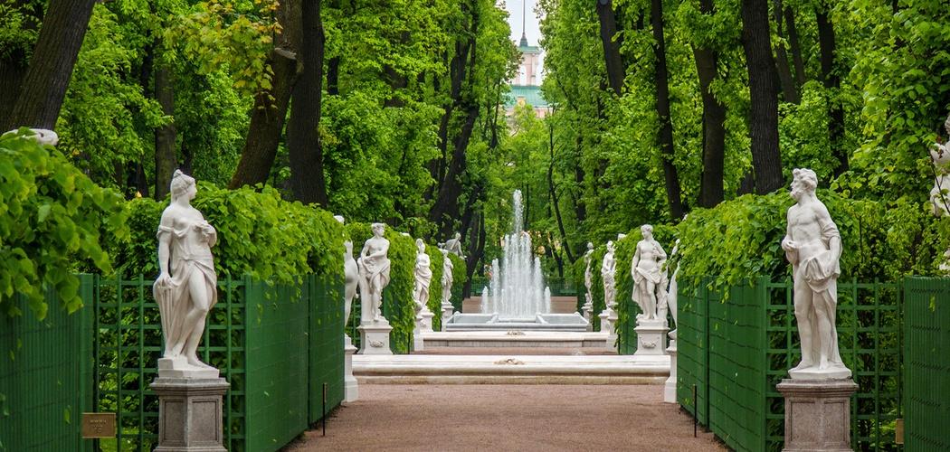 Летний сад статуи фонтан Экскурсионное бюро «Captour»