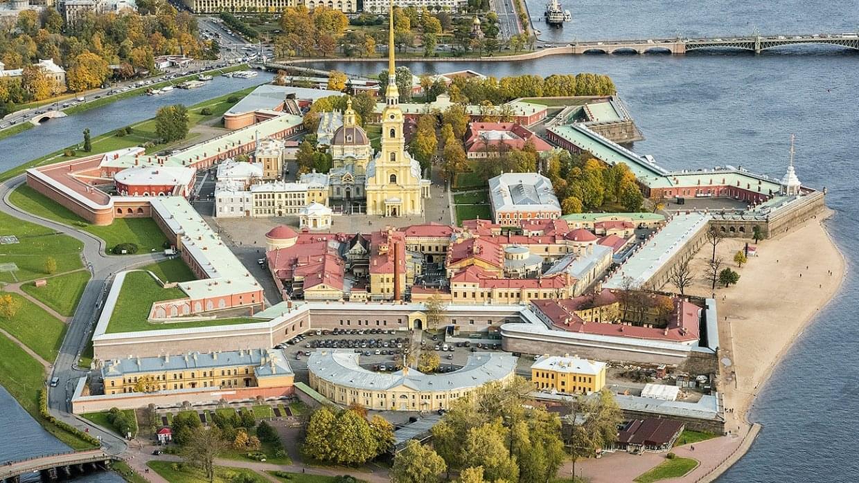 Фото Петропавловской крепости вид сверху Экскурсионное бюро «Captour»
