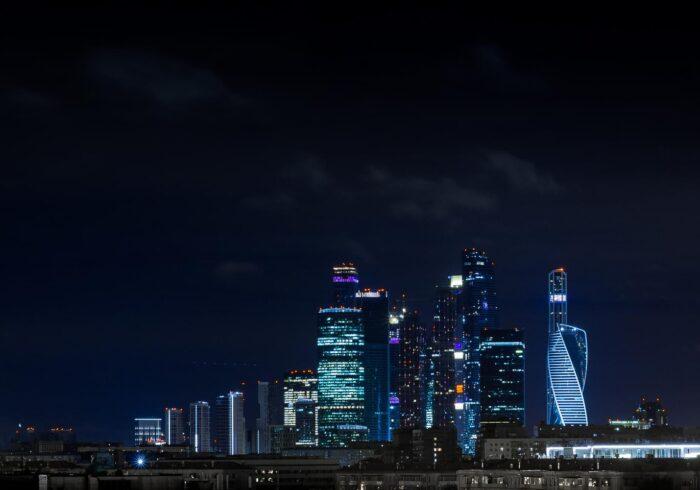"""Москва-Сити вечером на экскурсии от Экскурсионного бюро """"Captour"""""""