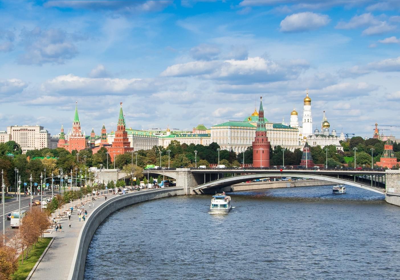 """Фотография панорамы Москвы на экскурсии от компании """"Captour"""""""