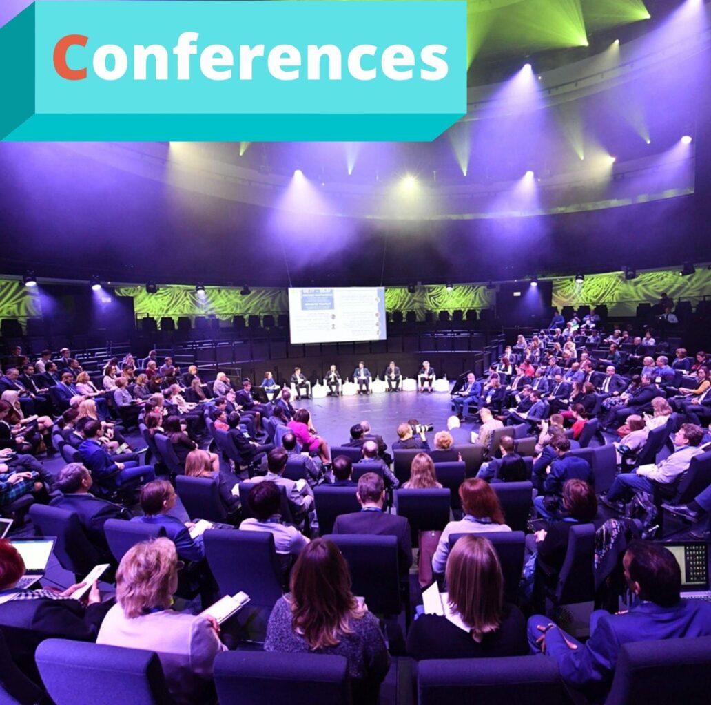 """Conferences - это составляющая MICE услуг от компании """"Captour"""""""