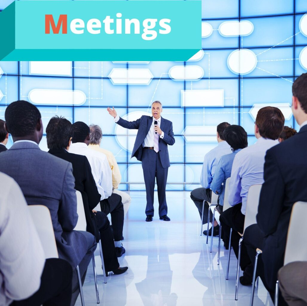 """Meetings - это составляющая MICE услуг от компании """"Captour"""""""