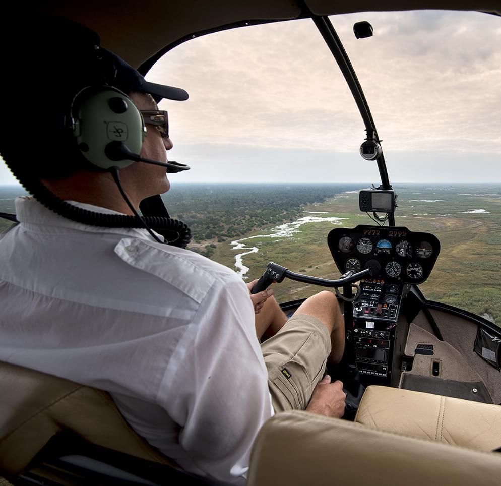 "Мастер-класс на Robinson R44 от компании ""Captour"""