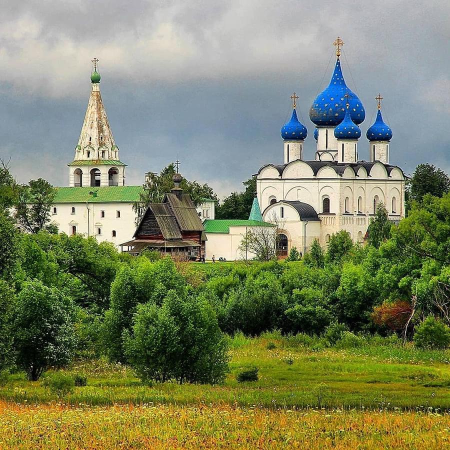 """Фото Суздальского Кремля на туре от Экскурсионного бюро """"Captour"""""""