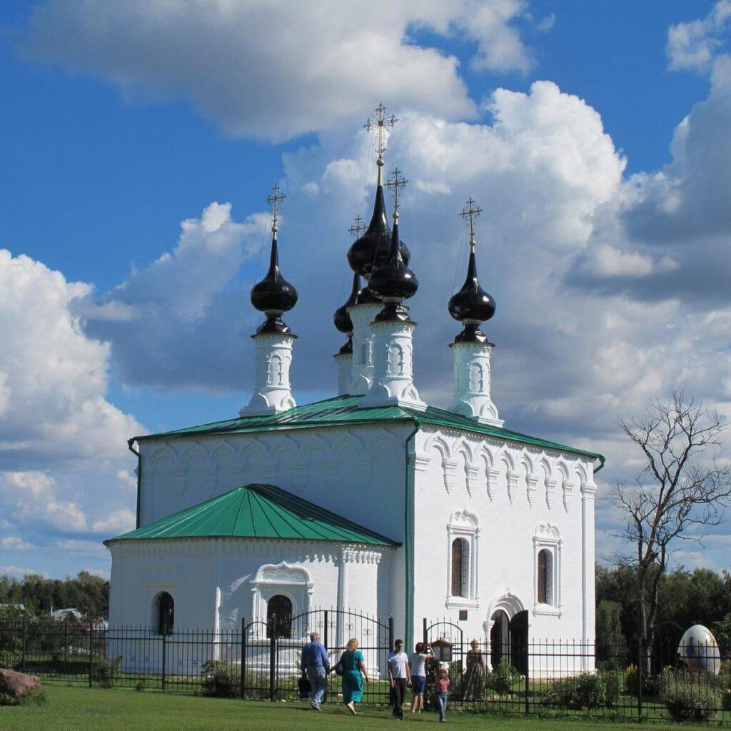 """Церковь в Суздале  на туре от Экскурсионного бюро """"Captour"""""""