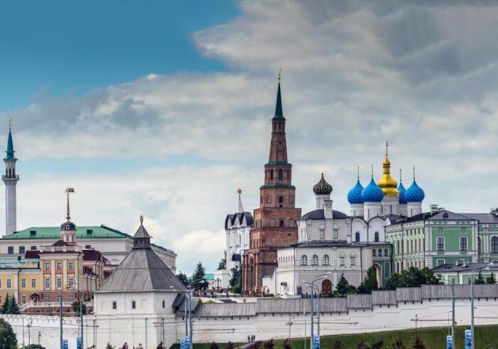 """Панорама Казанского Кремля на экскурсии от Экскурсионного бюро """"Captour"""""""
