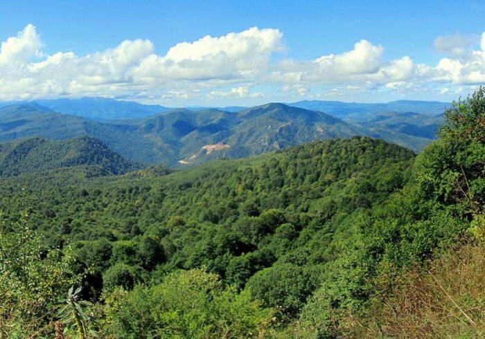 """Панорама Лагонаки на экскурсии от Экскурсионного бюро """"Captour"""""""