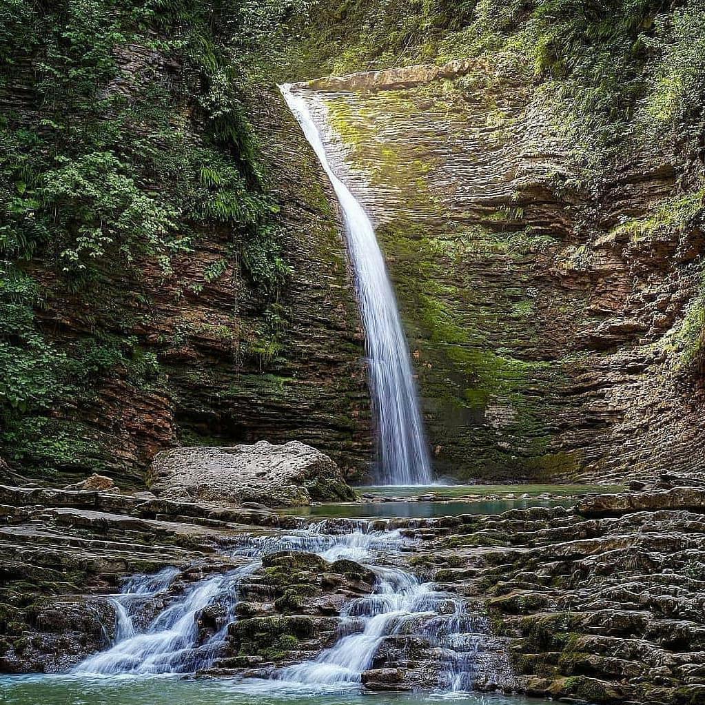"""Водопады Руфабго в Лагонаки на экскурсии от Экскурсионного бюро """"Captour"""""""