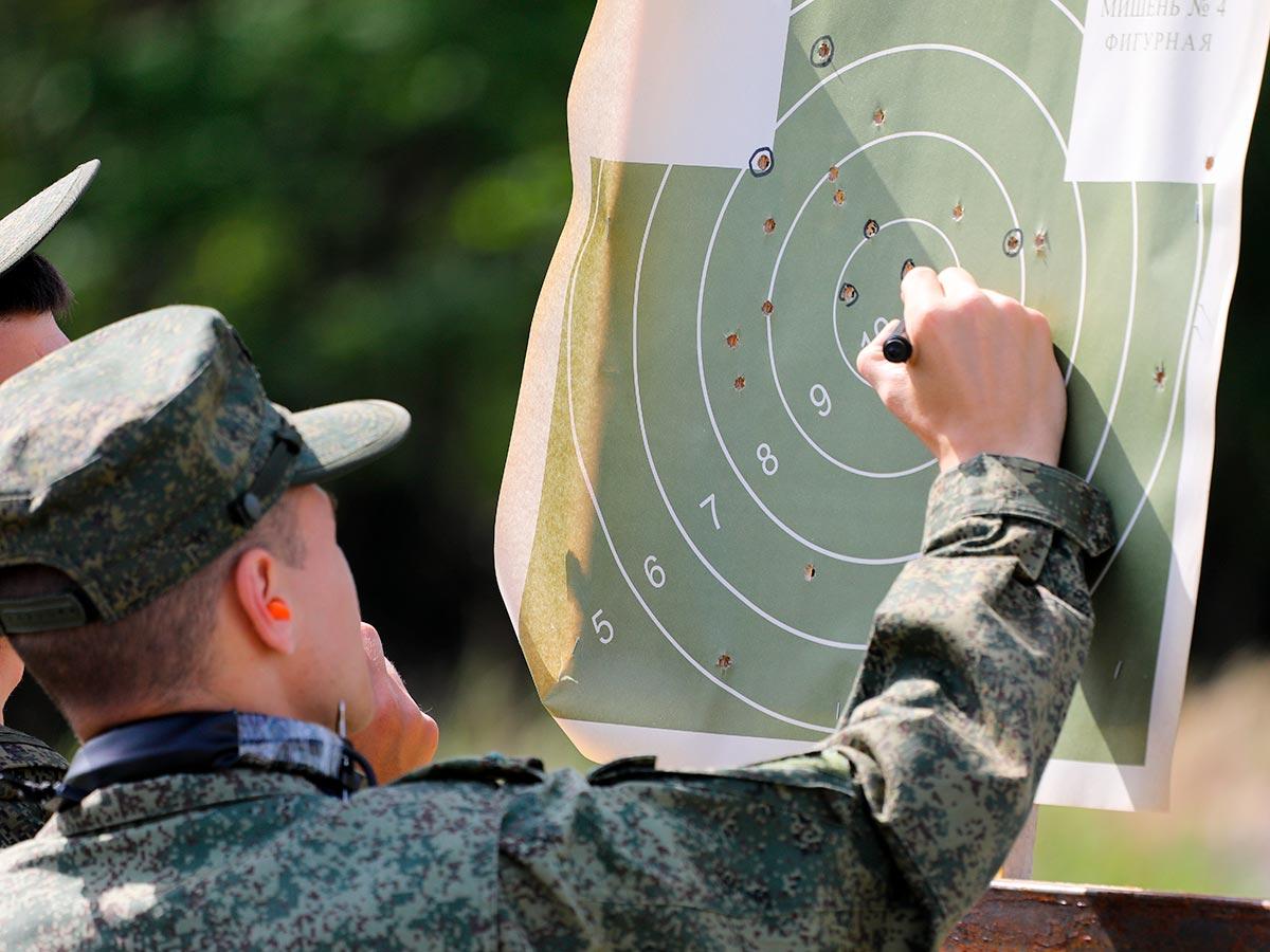 Анализ стрельбы по мишени из пистолета Макарова