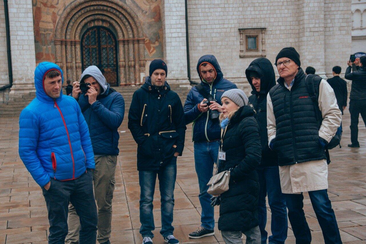 """Немцы на обзорной экскурсии от компании """"Captour"""""""