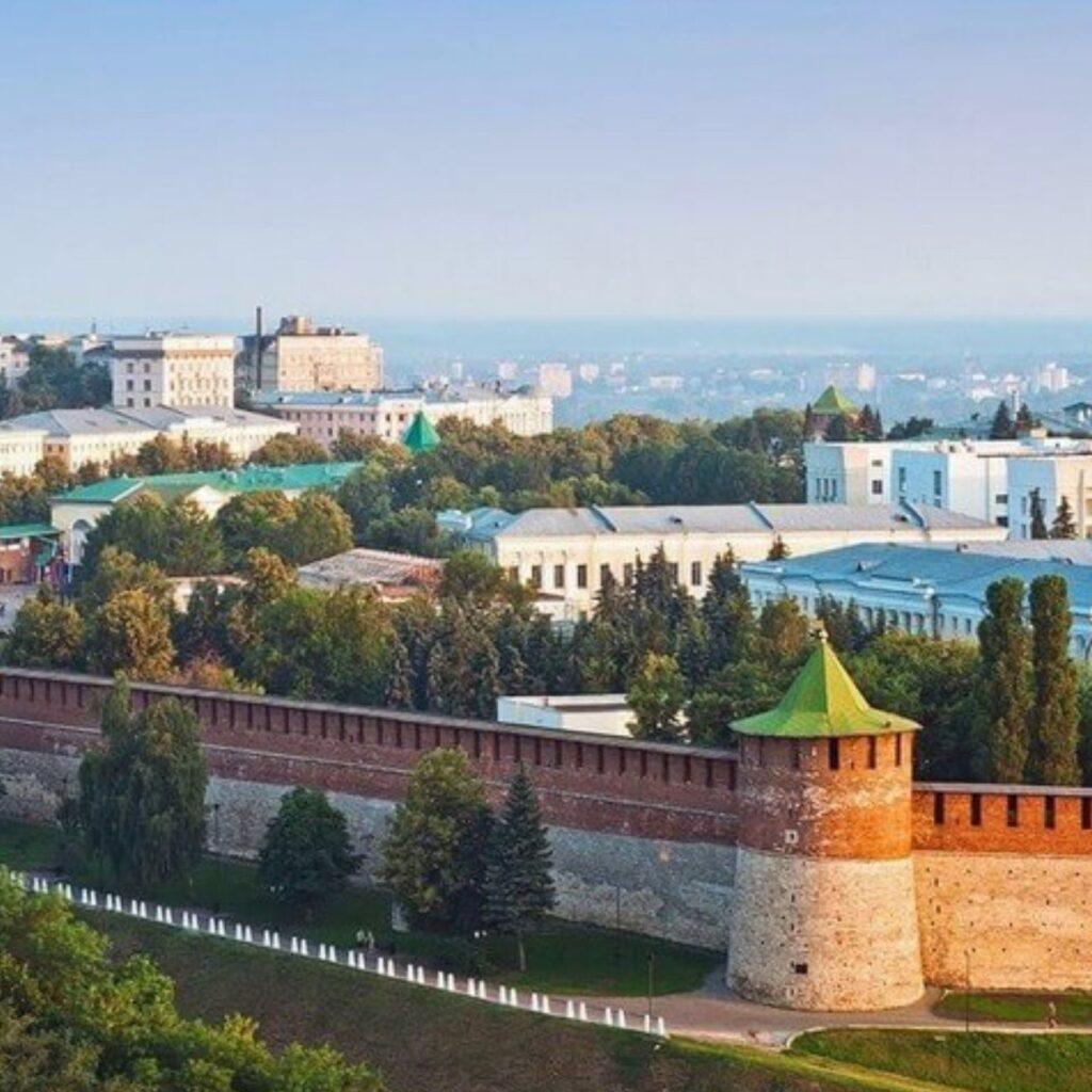 Стены кремля