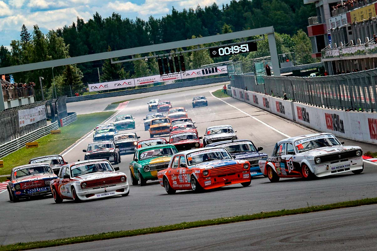 Гонки на Moscow Raceway