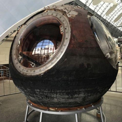 космический экспонат
