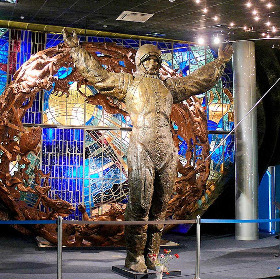 """Фотография из музея Космонавтики на ВДНХ на экскурсии от компании """"Captour"""""""