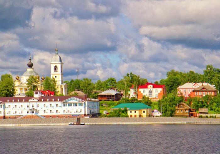 Панорама города Мышкин