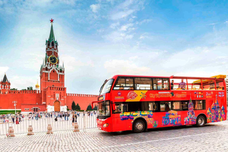 Экскурсии по Москве на двухэтажном красном автобусе